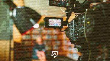 imagem de um video sendo gravado